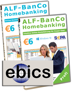 EBICS-Zusatzmodul für ALF-BanCo Profi/Business