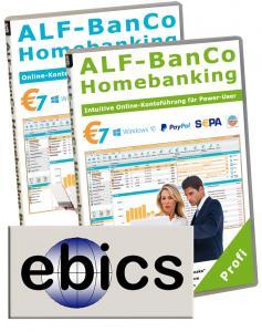 EBICS-Zusatzmodul für ALF-BanCo 7 Profi/Business